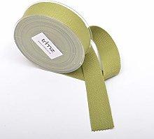Trimz Webbing, Cotton, Olive, 10m x 40mm
