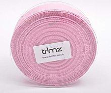 Trimz Webbing, Cotton, Pink, 10m x 40mm