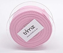 Trimz Webbing, Cotton, Pink, 5m x 40mm