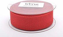 Trimz Webbing, Dark Red, 5m x 30mm