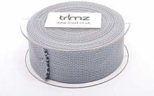 Trimz Webbing, Grey, 5m x 40mm