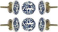 TRINCA-FERRO Set of 6 Ceramic Becknham Cupboard