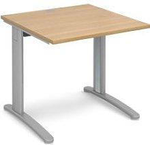 Trinity Rectangular Desk, 80wx80dx73h (cm),