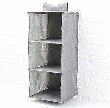 Trintion 3-Shelf Fabric Hanging Shelves 27 * 27 *