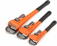 Trintion 3Pcs Pipe Wrench Heavy Duty Plumbing