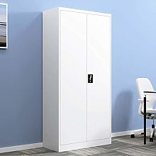 Trintion Metal Storage Cabinet 180cm Tall Cupboard