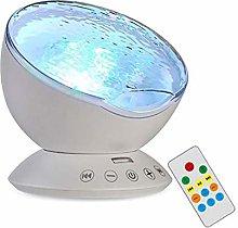 Trintion Ocean Projector Lamp Ocean Wave Music LED