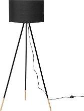 Tripod Floor Lamp Black TOBOL