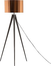 Tripod Floor Lamp Copper STILETTO