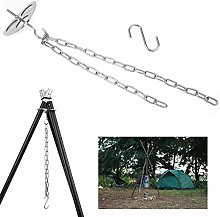 Tripod Grill Board, Stainless Steel Camping