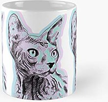 Tripping Pastel Sphinx Classic Mug Best Gift Funny