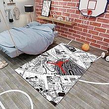 Tritow Anime Slam Dunk Carpet Living Room Comic