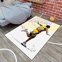 Tritow NBA Living Room Carpets USA Basketball Kobe