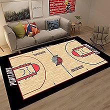 Tritow USA Basketball NBA Carpet Non-Slip Portland