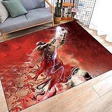 Tritow USA Basketball NBA Carpet Non-Slip Red