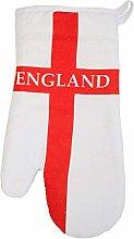 TRIXES England Flag Design Oven Glove Mitt -