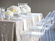 Trlyc 120cmx180 cm Christmas Wedding Sequins Table