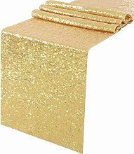 "TRLYC 14""*108"" Gold Elegant Rectangle"