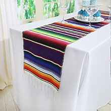 TRLYC Mexican Table Runner - 14x84inch Mexican