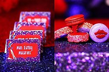 TRLYC Purple Sequin Table Cloth for Wedding - 50 x