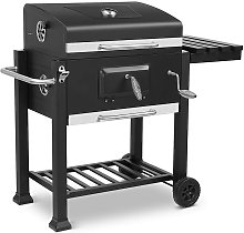 Trolley Charcoal Grill XXL, with 3 Grill Grates,