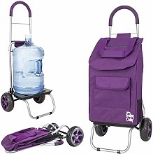 Trolley Dolly, Purple Foldable Car