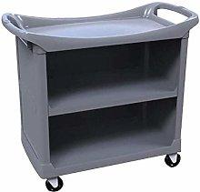 Trolleys,Grey Plastic Trolley, Medical Cart Tool 3