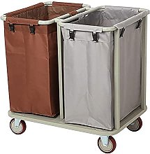 Trolleys,Laundry Basket, Carts With 2 Bag -