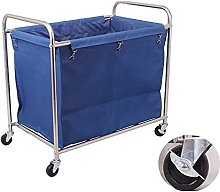 Trolleys,Laundry Basket, With Removable Bag,