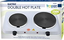 TROPAN Double Hot Plate Stainless Steel, 2500 W,