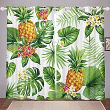 Tropical Curtains for Bedroom Living Room