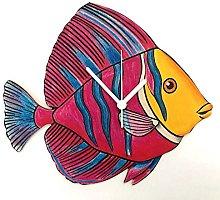 Tropical Fish Clock - Marine Fish Clock - OC12