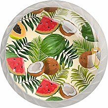 Tropical Fruits Cabinet Knobs Drawer Handles
