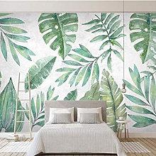 Tropical Herbarium Mural - Wallpaper Sample