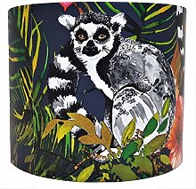 Tropical Lemur Lampshade for Ceiling Light Shade