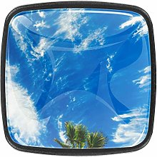 Tropical Mood Palm Trees and Blue Sky 4 Packs