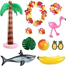 Tropical Party Decorations, MEZOOM Inflatable Toys