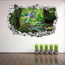 Tropical Rainbow Wall Stickers Mural Decal Print