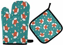 TropicalLife ADMustwin Animal Foxes Stars Pattern
