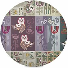 TropicalLife ADMustwin Place Mat Vintage Ethnic