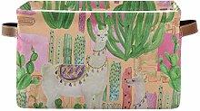 TropicalLife BGIFT Storage Basket Animal Alpaca