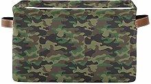 TropicalLife BGIFT Storage Basket Camo Military