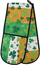 TropicalLife FELIZM Double Oven Glove Irish Flag