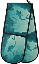 TropicalLife FELIZM Double Oven Glove Ocean