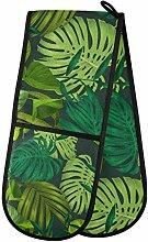 TropicalLife FELIZM Double Oven Glove Palm Tree