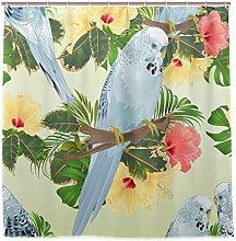TropicalLife HaJie Bathroom Shower Curtain Flower