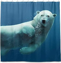 TropicalLife HaJie Bathroom Shower Curtain Funny