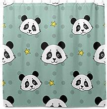 TropicalLife HaJie Bathroom Shower Curtain Star
