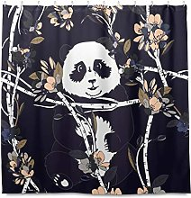TropicalLife HaJie Bathroom Shower Curtain Tree