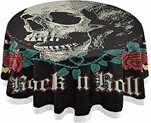 Tropicallife HaJie Tablecloth Gothic Rock Rose